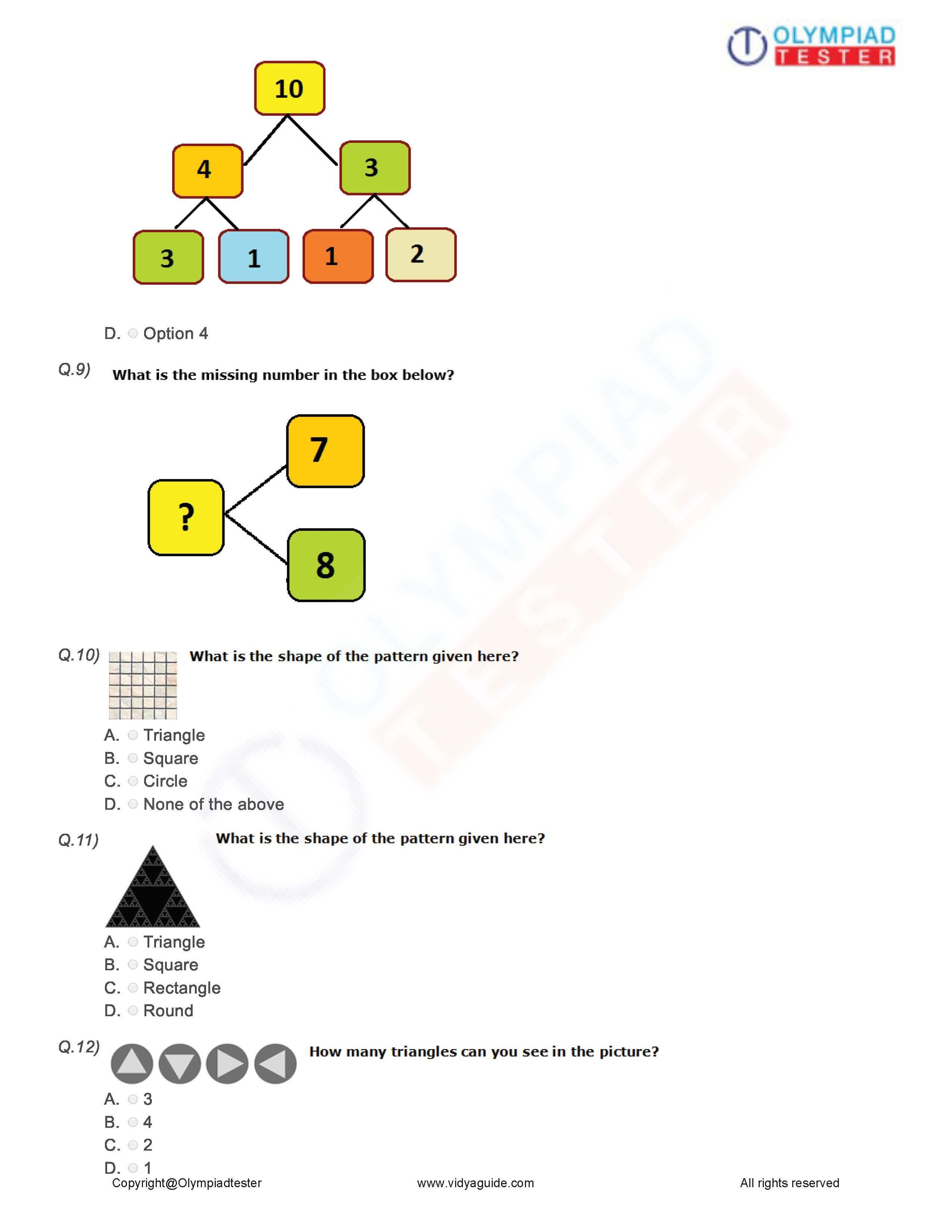 Download these printable Grade 1 Maths PDF Worksheets or