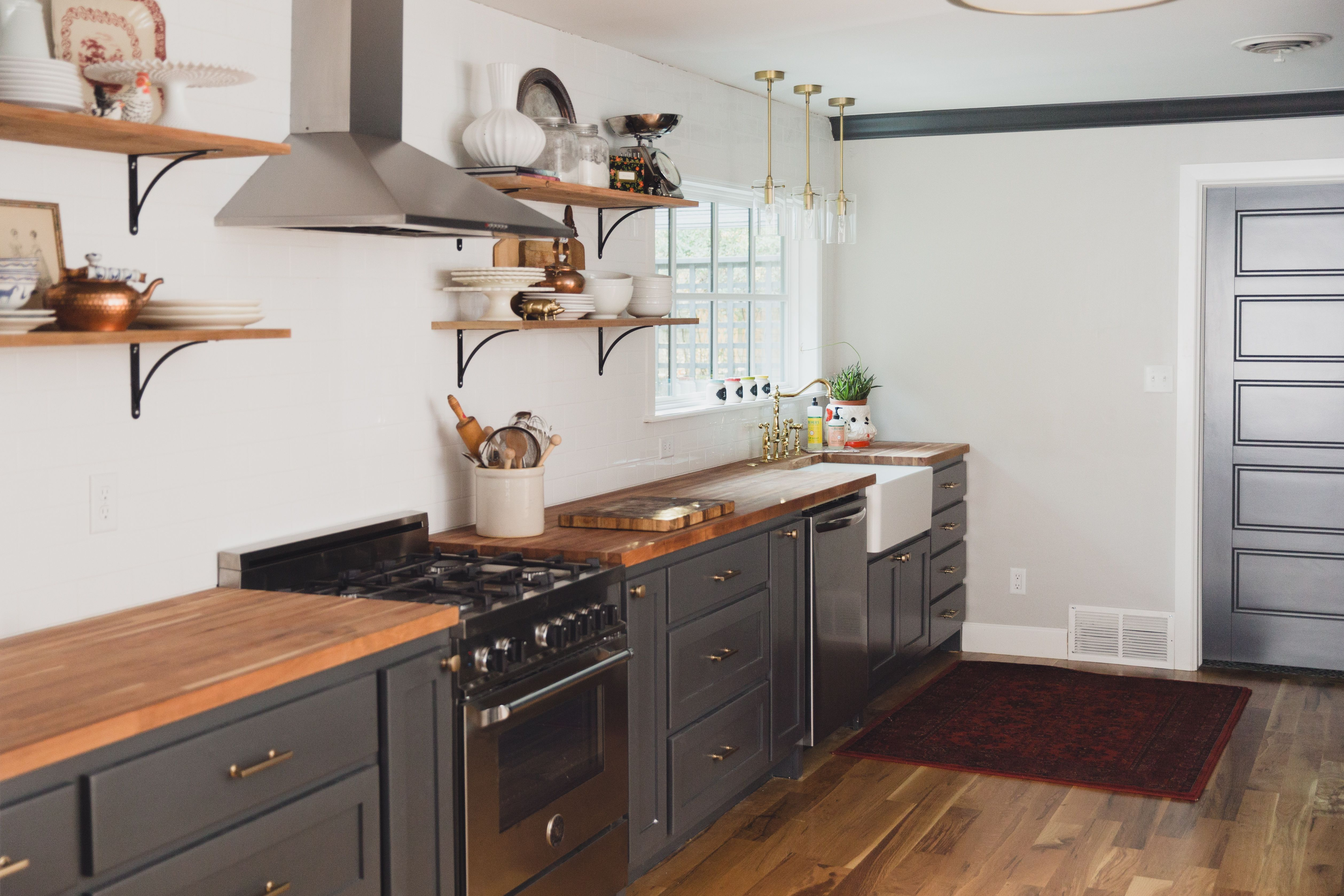 Our Home A Year In Review Home, Farmhouse sink kitchen