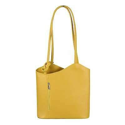 Photo of ITAL DAMEN LEDER TASCHE Rucksack Schultertasche Shopper Lederrucksack Handtasche…