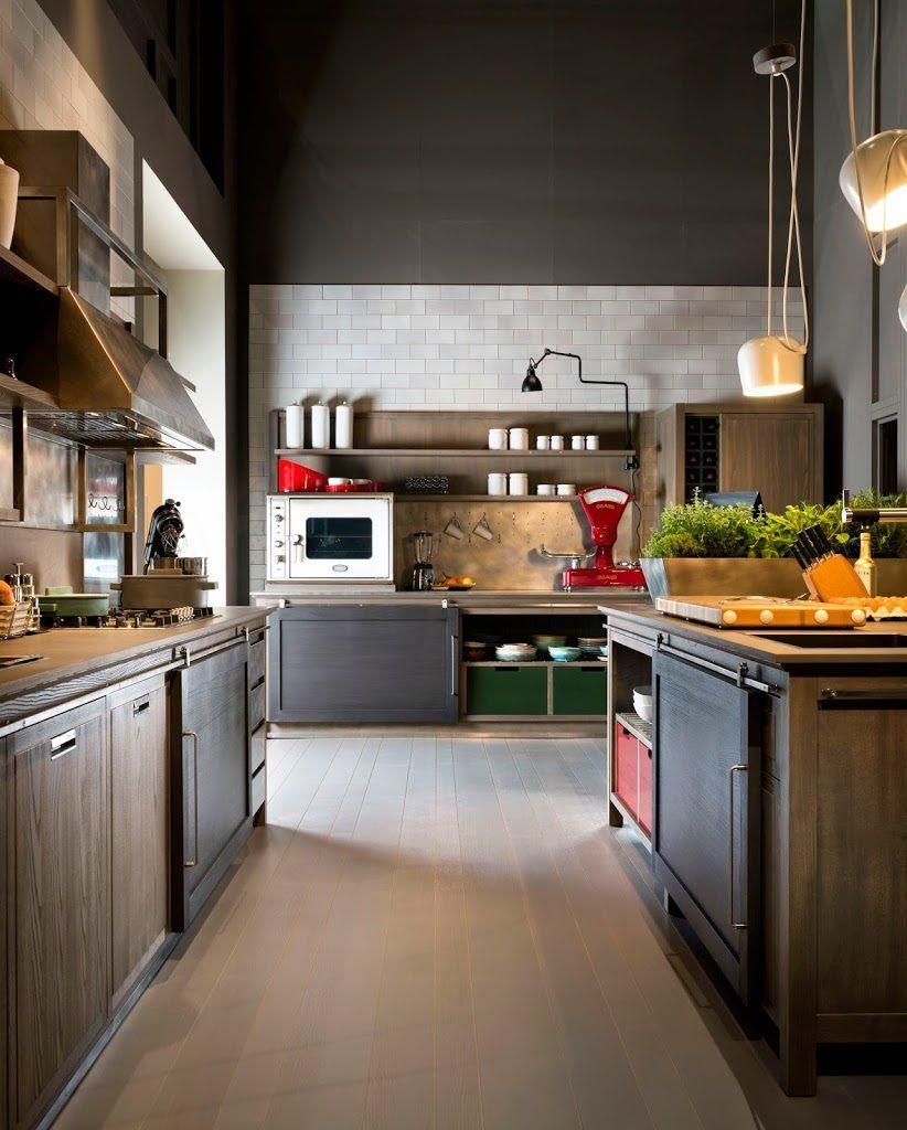 Cucine industrial chic firmate L\'Ottocento Cucine | Kitchen ...