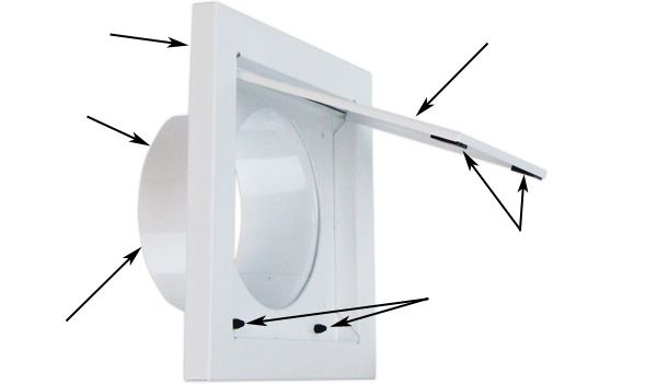 Wall Vent Advantages Wall Vents Wall Vent Covers Dryer Exhaust Vent