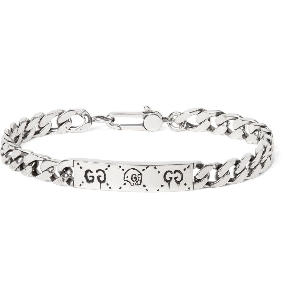 5876c06bd GUCCI Bracelets Skull Chain Silver Bracelets 2 | Cool stuff 108 in ...