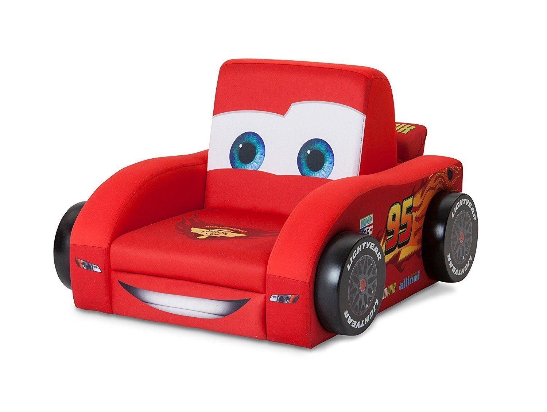 Cars 3D Kindersessel Holz Gepolstert Sofa Sessel Stuhl