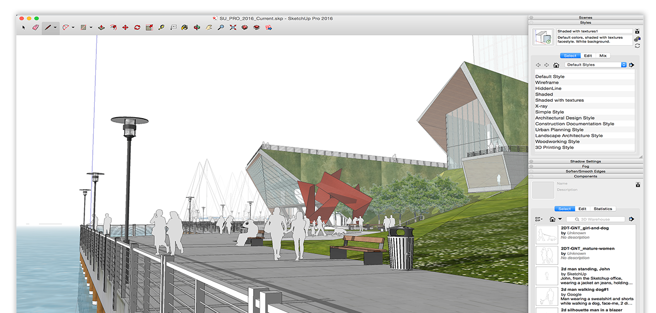 Sketchup Google Sketchup 3d Modeling Software Video Game Design