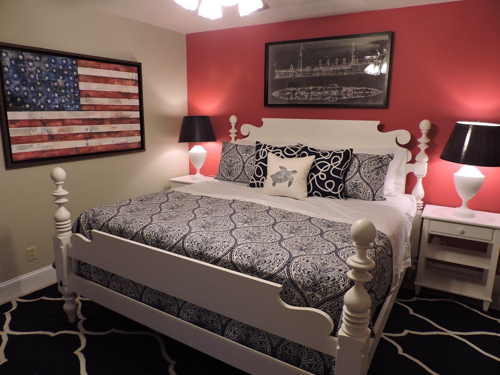 nautical themed bedroomethan allen designer dena