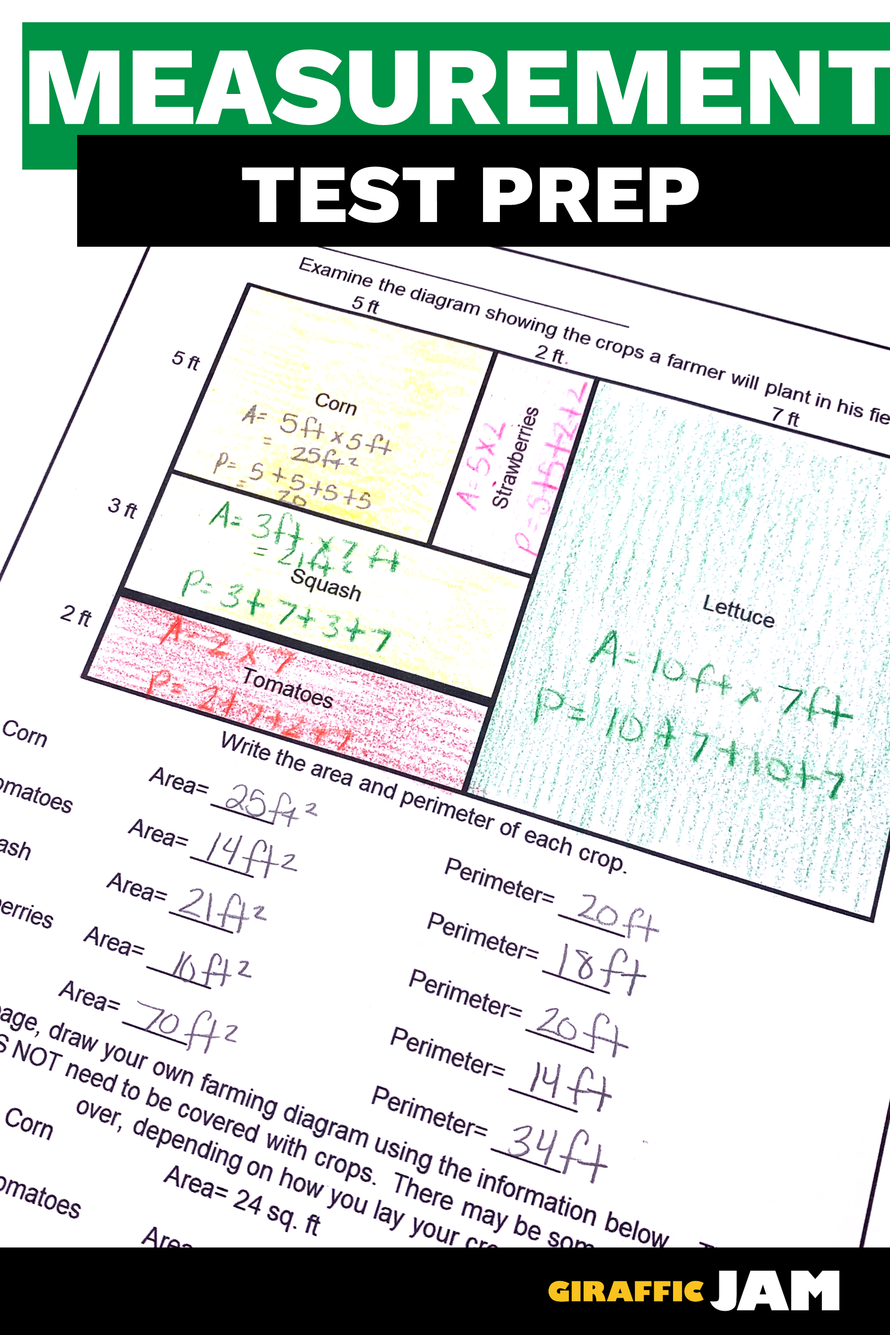4th Grade Measurement Tasks