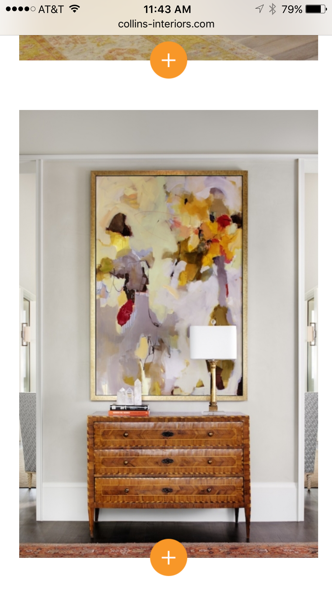 Swap Out Your Current Entryway Art For A Piece Featuring