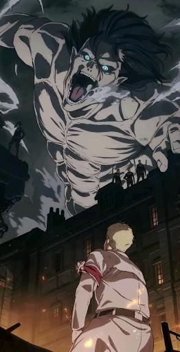 | Save & Follow | Eren Jaeger • Reiner Braun • Live Wallpaper • Attack on Titan • Shingeki no Kyojin