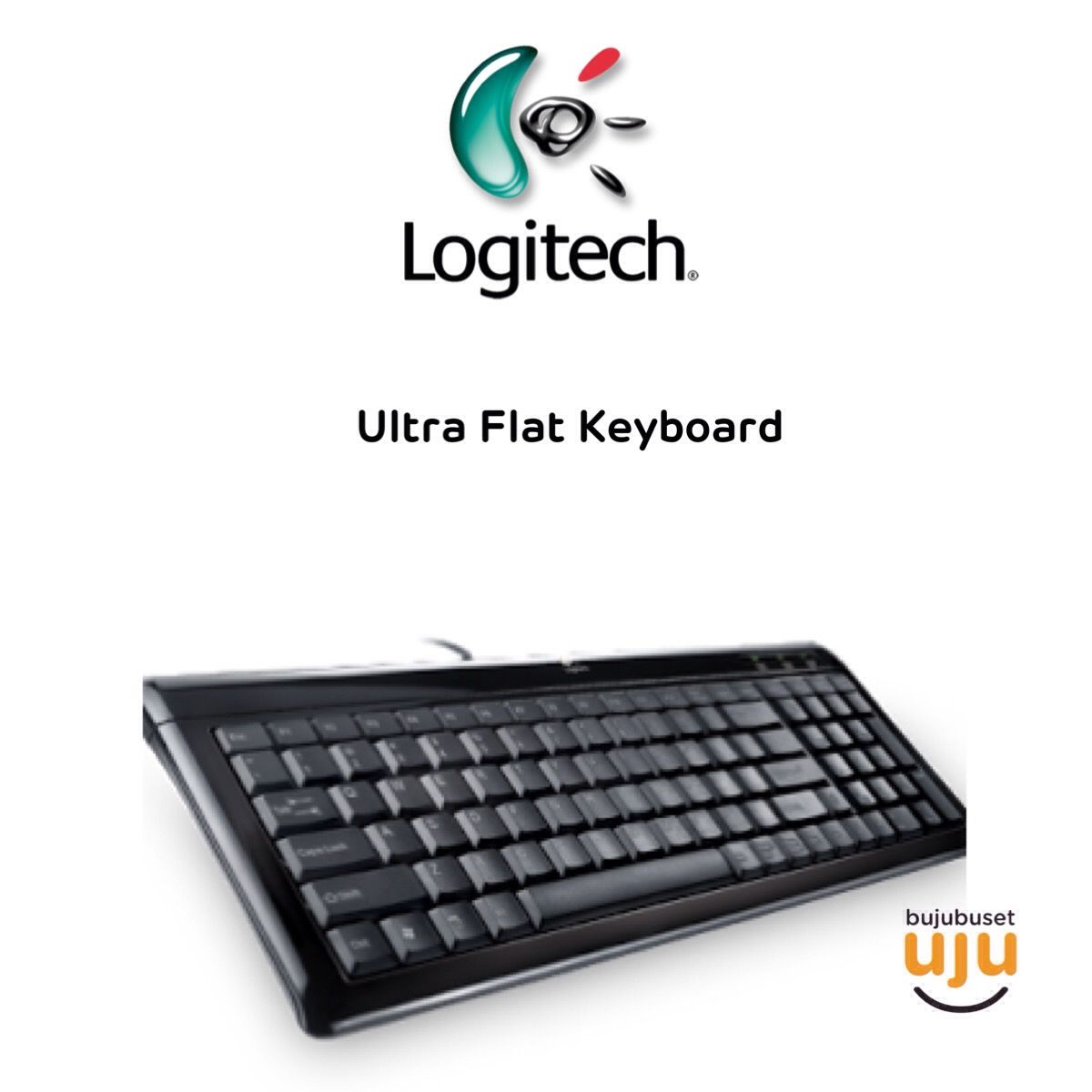 Logitech Ultra Flat Keyboard Usb Ps2 Idr 170000 K120
