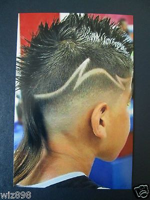 I Am Loving The Razor Cut Zigzag Line On This Haircutt The