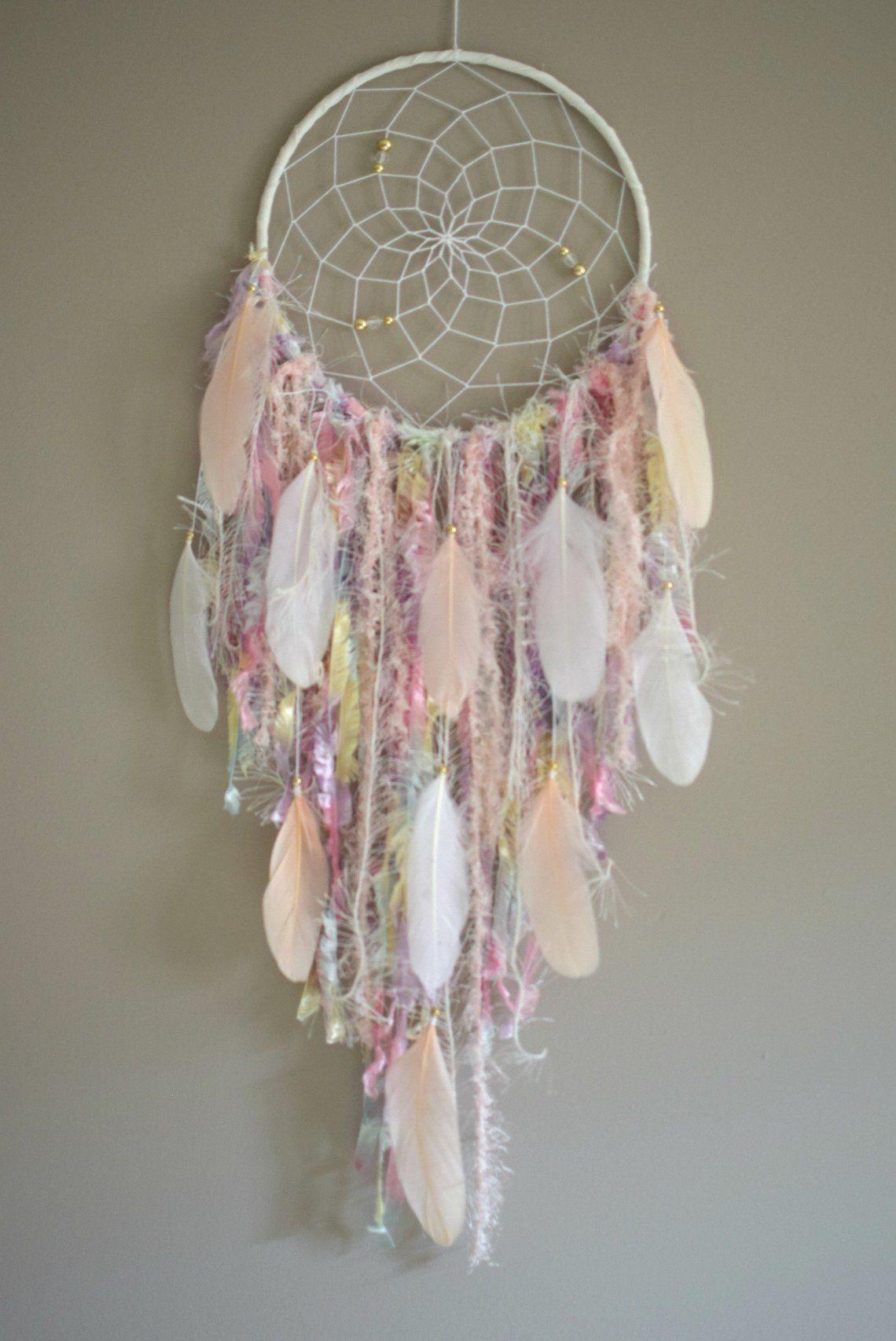 Large Dream Catcher Girls Room Decor Dreamcatcher Wall Hanging | Etsy