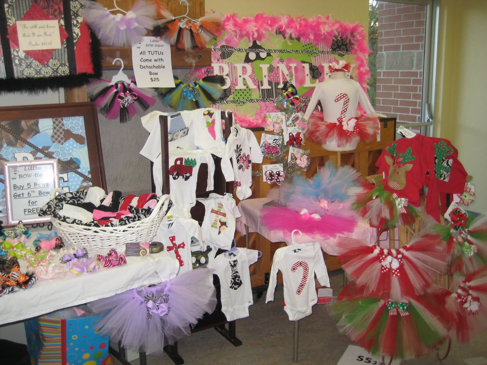 Christmas Booth Ideas Craft Fair Booth Ideas Hooded Towels On Display Can Be