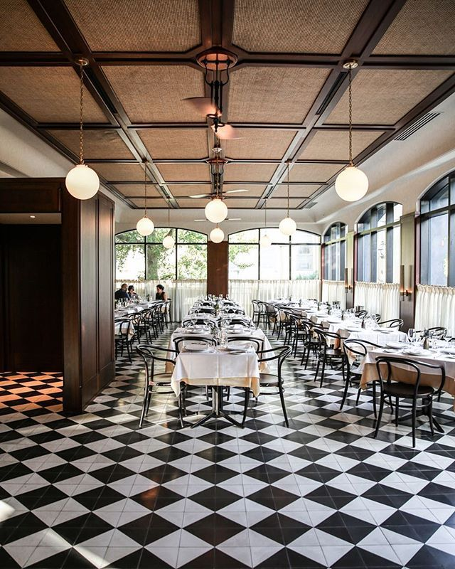 a checkered dream - at The Dewberry in Charleston @zioandsons