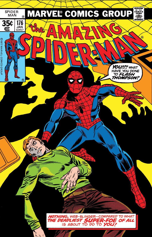 Amazing Spider Man Vol 1 176 Amazing Comicbooks Comicsandcartoons Funnyquotes Laughing Nursin In 2020 Comic Book Template Amazing Spider Comic Book Display
