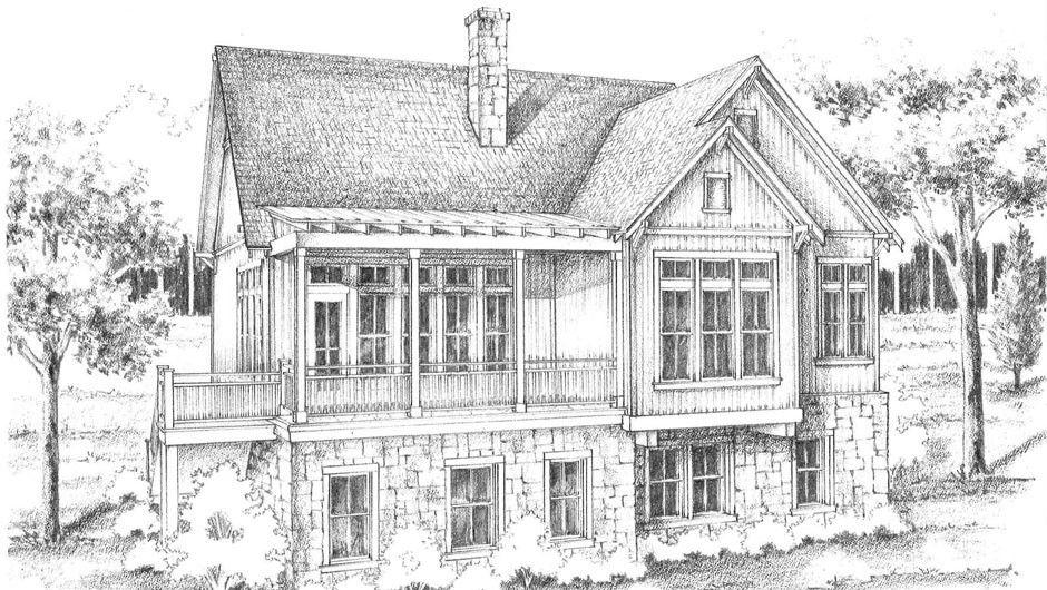 Post Oak Floor Plan | #LongCoveTX