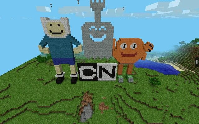 Minecraft PE Cartoon Network