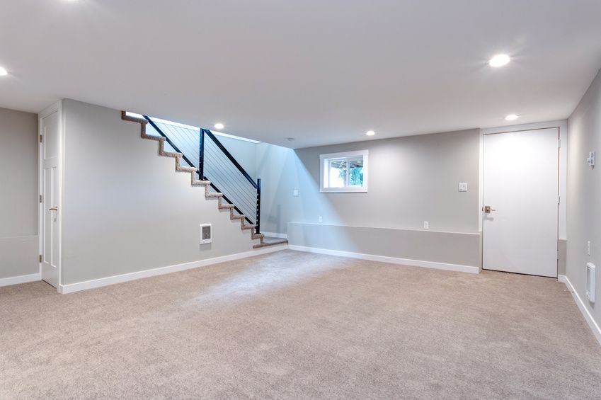 Once An Empty Shell Is Now A Blank Canvas To Make Into Anything You Can Dream Of Your Basement H Cost To Finish Basement Basement Makeover Finishing Basement
