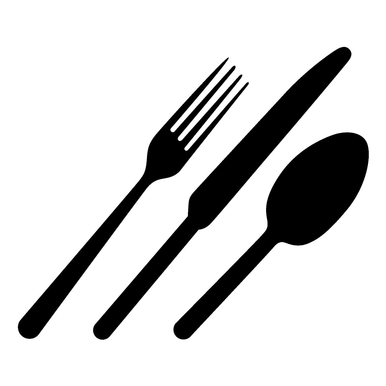 Vinilo tenedor cuchillo y cuchara cubiertos pinterest for Plato tenedor y cuchillo