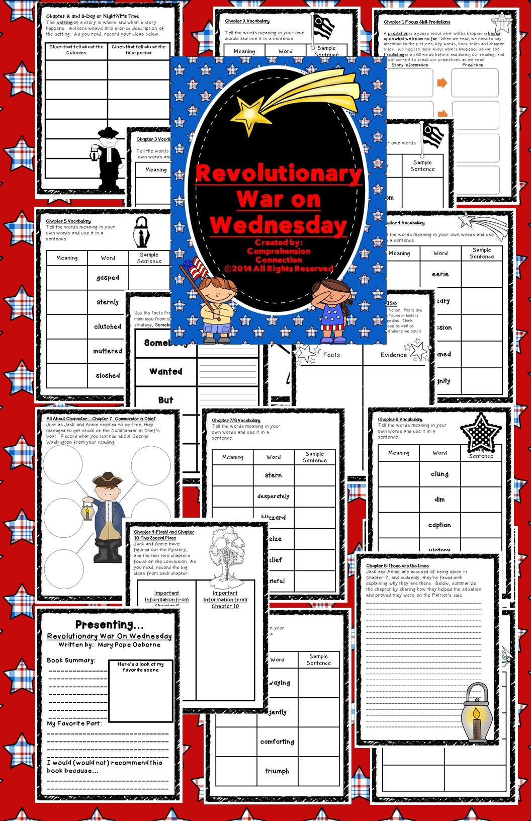 Revolutionary War On Wednesday Novel Study
