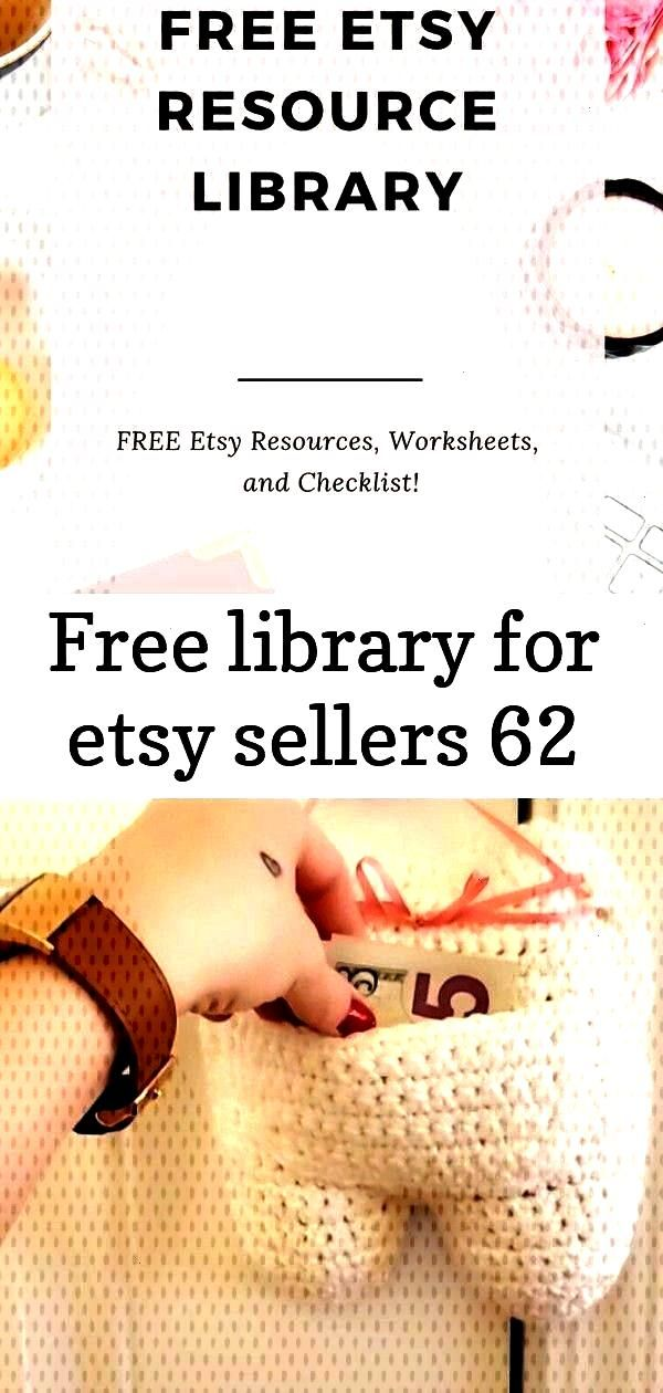 FREE Etsy Resource Library! I've complied resources, worksheets, and che Join my FREE Etsy Resource