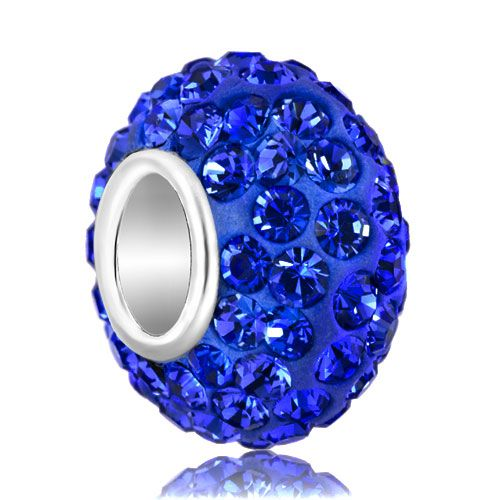 Keywords - crystal beads ten colors swarovski beads charms bracelets Image.