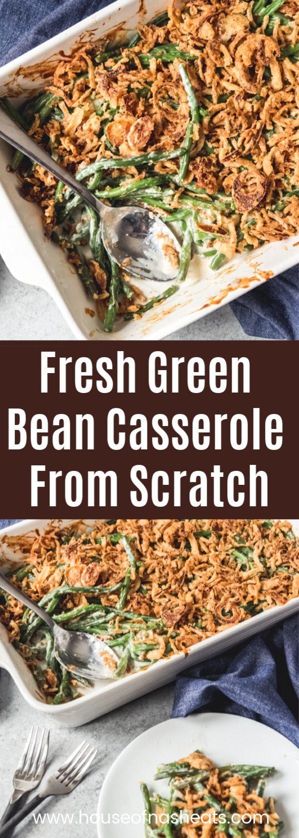 Fresh Green Bean Casserole images