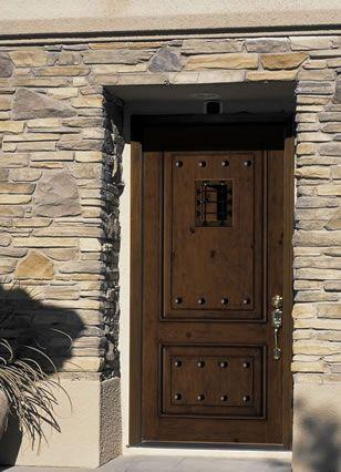Jeld Wen Aurora Custom Front Entry Door Speakeasy Window 1