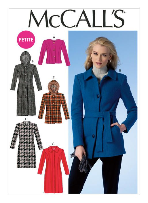 McCalls Misses\' Jackets, Coats and Belt 7058 (out of print | See sew ...