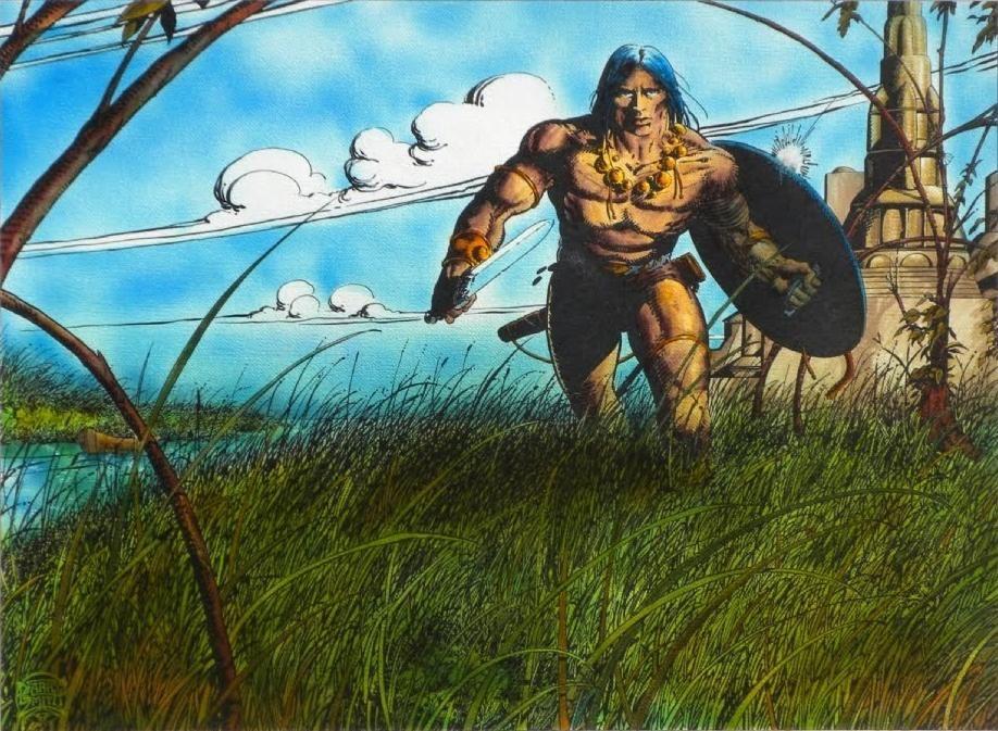 Galería de imágenes del Conan de Barry Windsor-Smith.