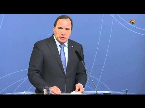 Statsministern haller presstraff