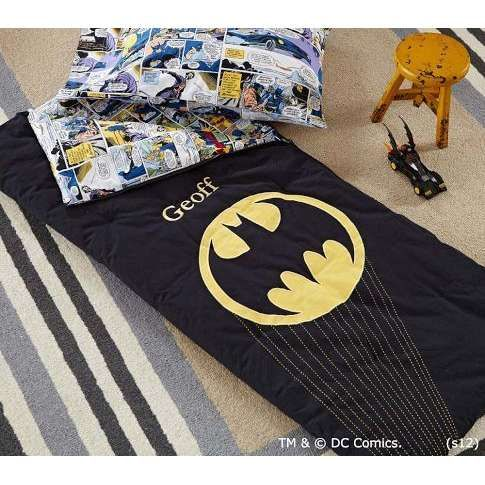 Batman Sleeping Bag Pottery Barn Kids Kids Pinterest