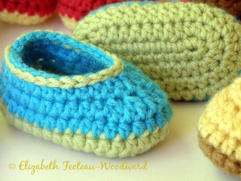 Infant Crocheted Bootie Slippers Crochet Children39s