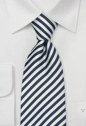 9b2eac926 Corbata rayas azul noche blanco http   www.corbata.org corbata-ray ...