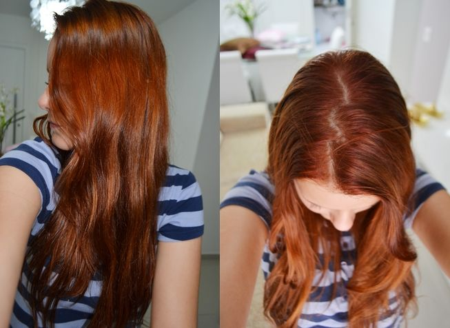 7 4 Wella Koleston Color Auburn Hair Balayage Hair Hair