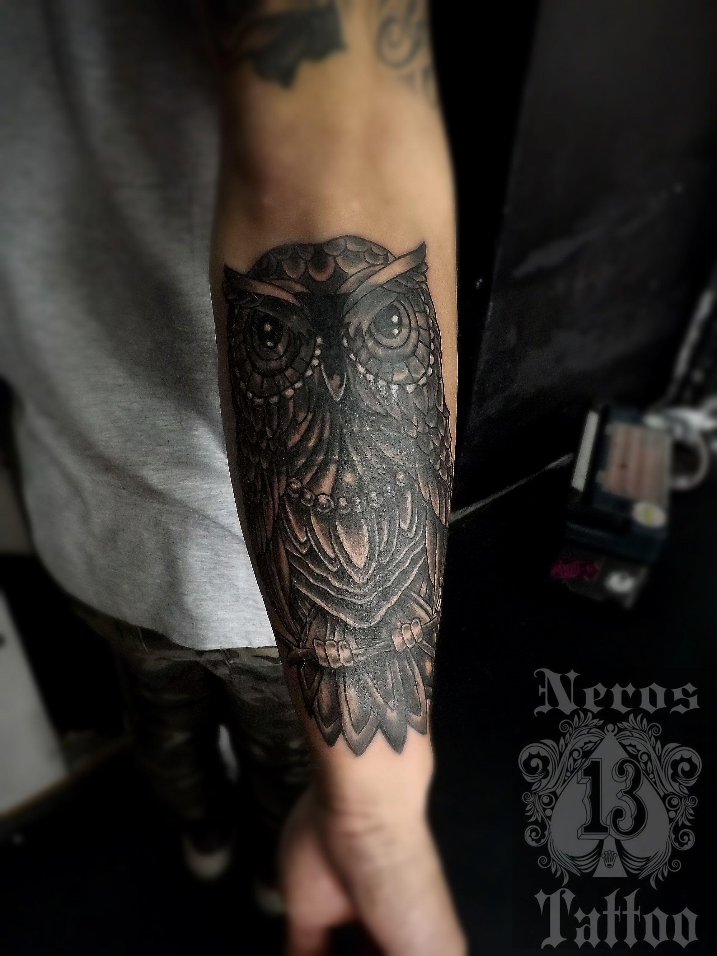#covertattoo #owltattoo #tattoowl #tattoolife #luisdlarosa #nerostarroo #perutattoo