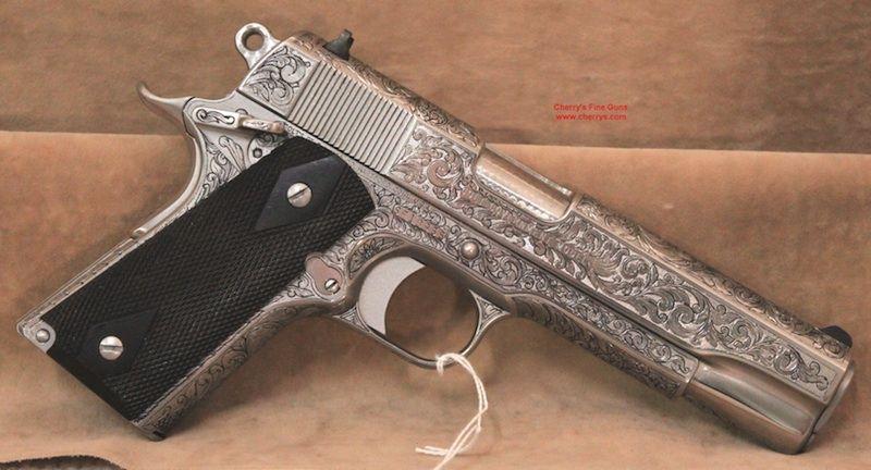 1911 model s frame series 80 45 caliber semi auto with