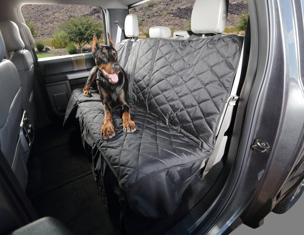 Multi Function Crew Cab Truck Seat Cover With Hammock Dog Car Seat Cover Truck Seat Covers Dog Hammock For Car
