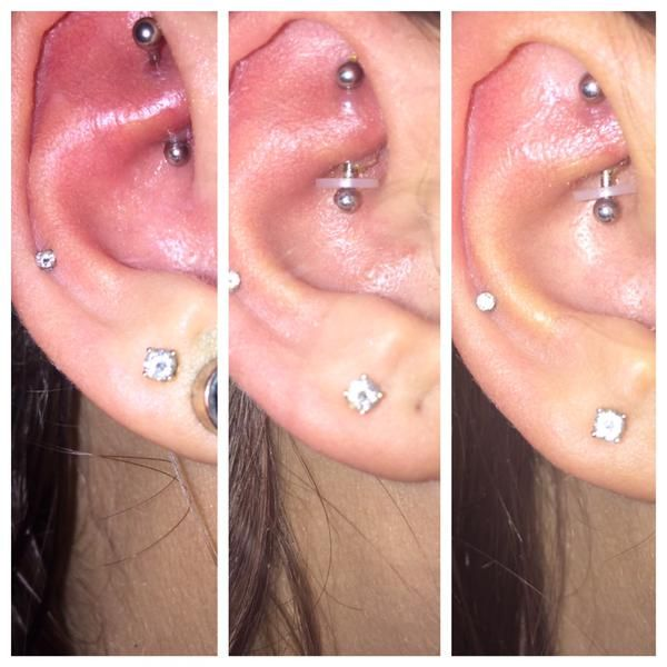 Angry No More. NoPull Piercing Disc. #LetTheHealingBegin