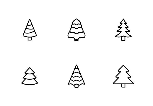 Evergreen Pine Tree Icons By Vector Win Tree Icon Pine Tree Evergreen