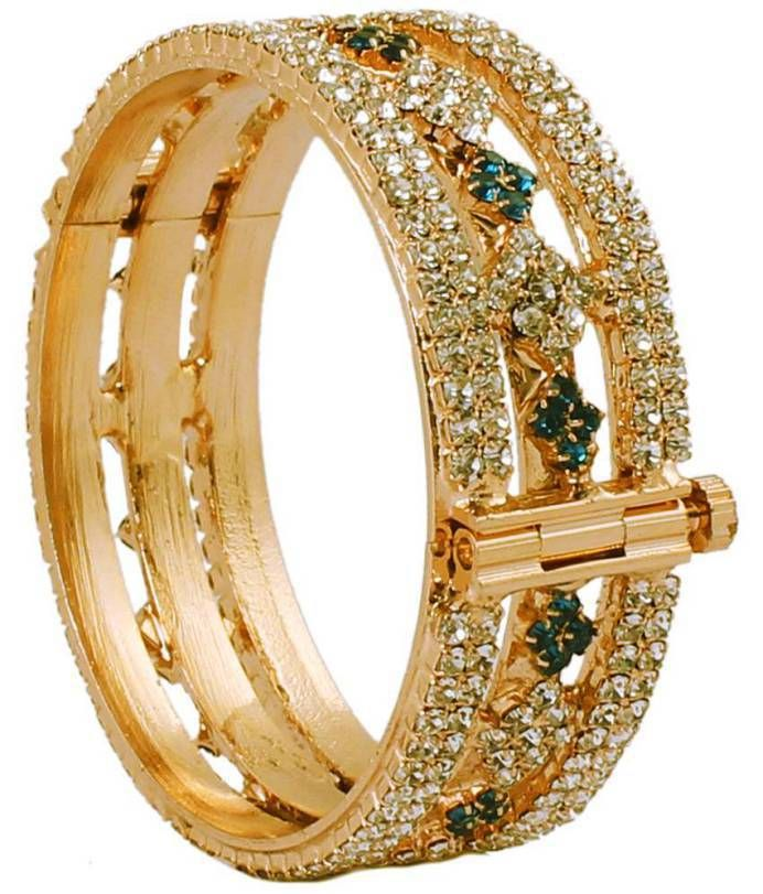 Trendy Gold Plated Bridal Bangles 2016....!! more pretty to you ...