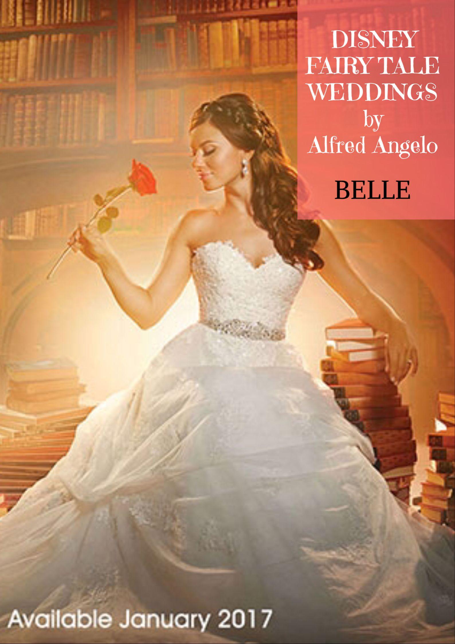Disney Princess Belle wedding dress design for 2017 | Wedding ...