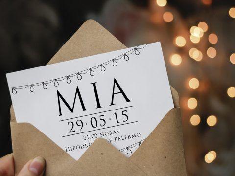 Diseño De Invitación Para Evento Social Tarjetas