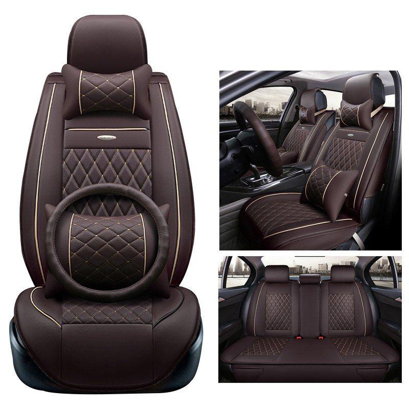 Groovy Car Wind Universal Leather Auto Automobiles Car Seat Covers Spiritservingveterans Wood Chair Design Ideas Spiritservingveteransorg