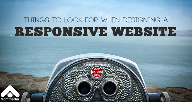 Things to Look for When Designing a Responsive Website
