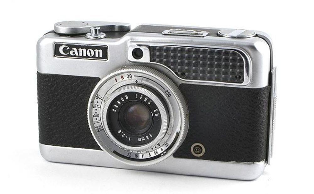 CANON DEMI S HALF FRAME 35mm CAMERA Instructions, Flash