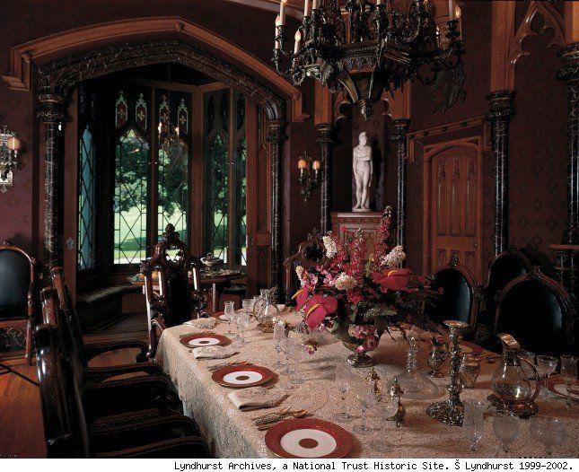 "Victorian Decor lyndhurst castle | hudson river valley ""castles"" | pinterest"