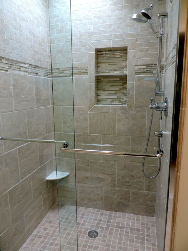 stand+up+shower+designs | Bath Remodel With Stand Up Shower ...