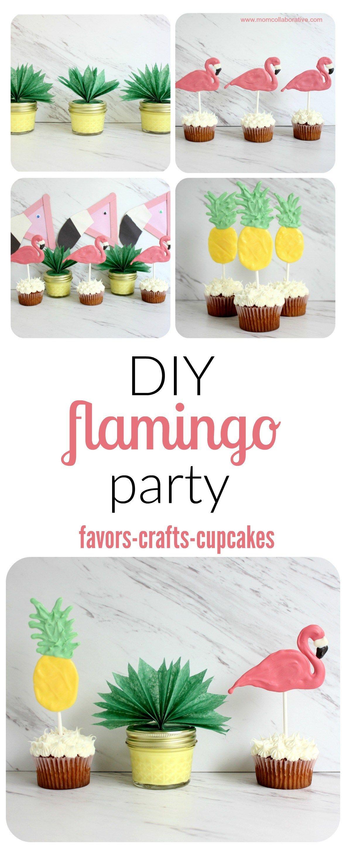 Four Simple Flamingo Party DIY Ideas   Flamingo party, Flamingo and ...