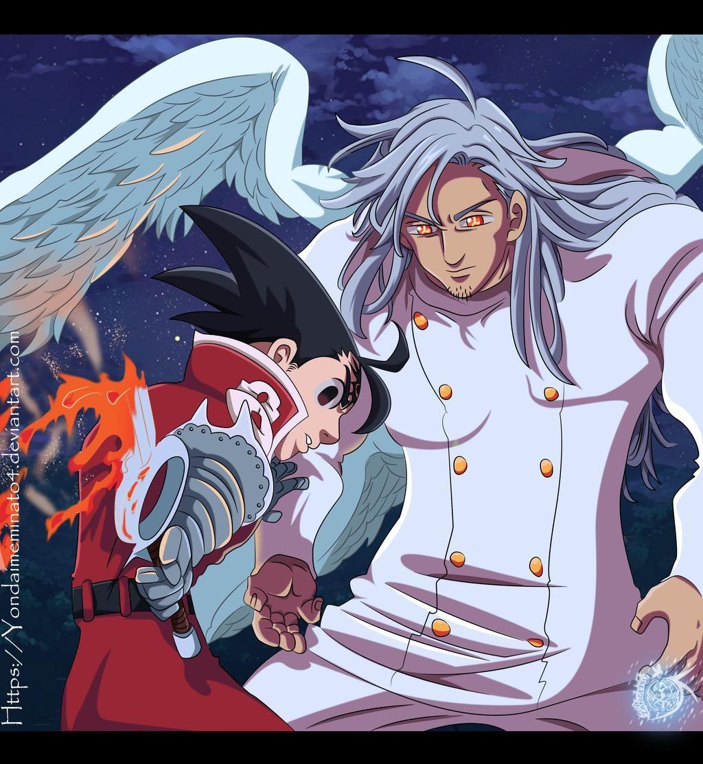 Mael Vs Zeldris Nanatsu No Taizai 298 By Yondaimeminato4 On Deviantart In 2020 Seven Deadly Sins Anime Demon King Anime Seven Deady Sins