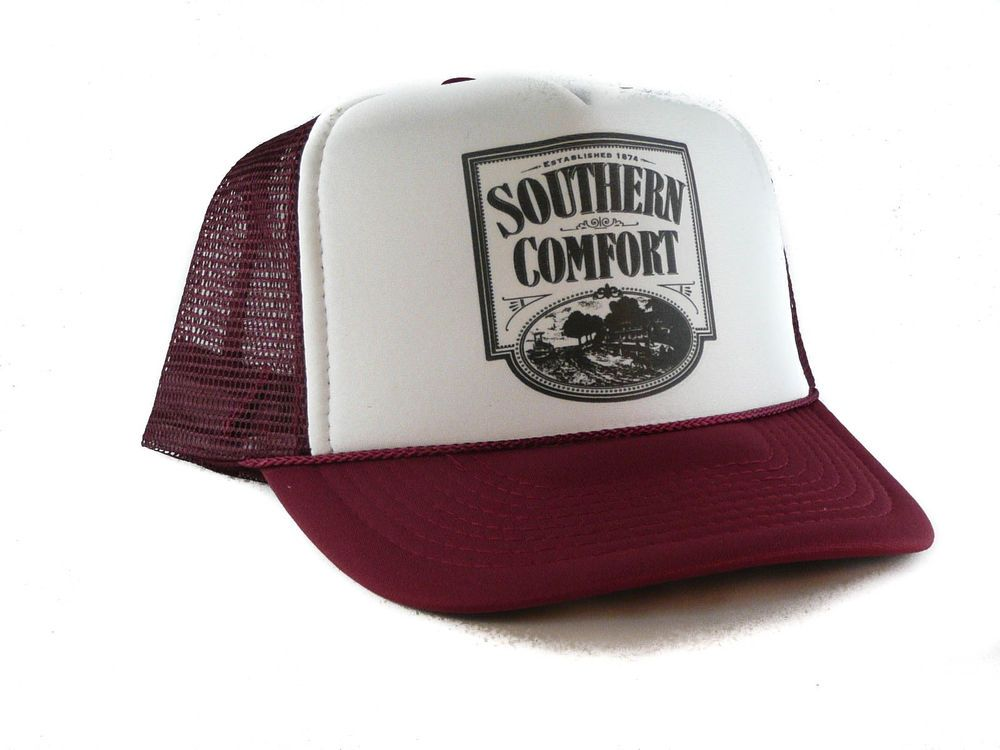 b1ed1d654 Details about Southern Comfort whiskey Trucker Hat mesh hat snapback ...